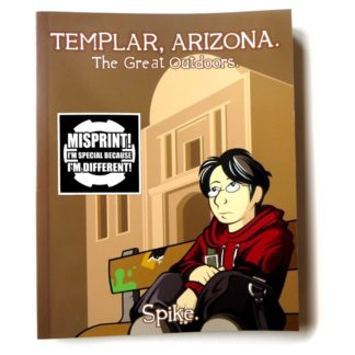 Templar, Arizona - Book One misprint